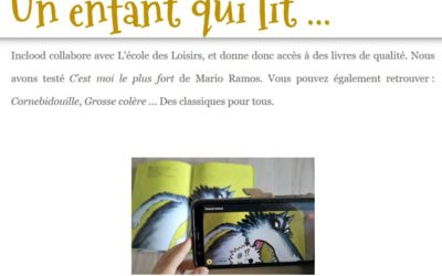 Article de blog – Un enfant qui lit…