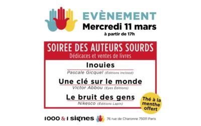 Dédicaces Inouïes – Paris